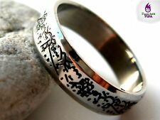 Boys Steel Ring Band Gothic Tribal Cool Designs Size 16mm-20mm Gift Mens Ladies