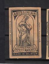Ancienne étiquette   allumettes  Belgique  A547 Femme Porteuse d'eau 1