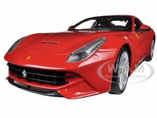 FERRARI F12 BERLINETTA RED 1/18 DIECAST MODEL CAR BY HOTWHEELS BCJ72