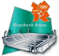 2012 London Olympic Riverbank Arena Sculpted Venue Pin