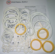 1981 Stern Split Second Pinball Machine Rubber Ring Kit