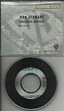 ROD STEWART Broken Arrow ULTRA RARE RADIO PROMO DJ CD single 1991 PROCD4864