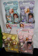 #5845 NRFB MGA Entertainment Set of 4 Yummi Land Flower Pop Girls Dolls
