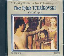 CD CLASSIQUE--TCHAIKOVSKI--PATHETIQUE / SYMPHONIE N° 6 & CAPRICIO ITALIEN OP 45