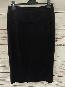 Marks And Spencer Ladies Black Pencil Skirt Size 10 ❤️PRE LOVED❤️