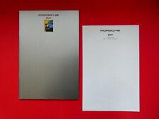 Prospekt / Katalog / Brochure Porsche 911 (964) Carrera 2 und Carrera 4  08/92
