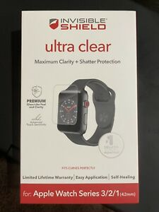 ZAGG InvisibleShield Ultra Clear Screen Protector Apple Watch Series 1 2&3 42mm
