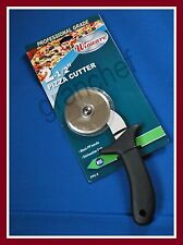 "Pizza Cutter With Guard ~ 2 1/2"" Blade ~ Made For The Food Service Trade ~ Nip"