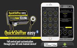 Healtech Quick Shifter Yamaha R6 2006 to 2016 IQSE-1+QSHP4A Bluetooth