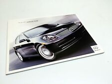 2003 Infiniti G35 Sedan Launch Brochure