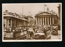 LONDON Bank of England Royal Exchange Used 1930 RP PC