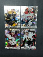 2013-14 Panini Prizm Cracked Ice Lot - 4 Card Lot