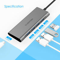 LENTION USB C Typ C Hub Thunderbolt 3 auf USB 3.0 PD Ladegerät für Apple Samsung