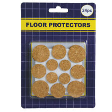 24/pack Furniture table desk chair legs Cork Floor Protectors Pad assorted size