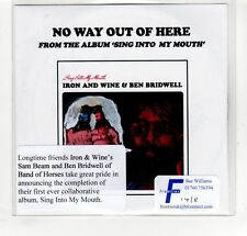 (GP166) Iron And Wine & Ben Bridwell, No Way Out Of Here - 2015 DJ CD