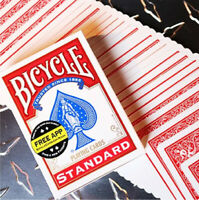 Red Standard Bicycle Playing Cards Poker Size Deck USPCC New Sealed
