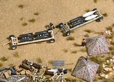 Busch 9606 Bomb Trailers & Accessories Plastic Kit HO/00 Scale - Tracked 48 Post