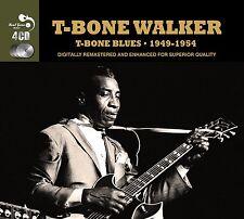 T-Bone Walker T-BONE BLUES 1949-54 Best Of 97 Songs MUSIC COLLECTION New 4 CD