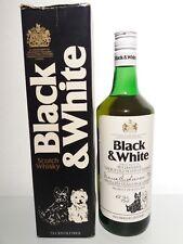 Whisky: Black & White 1970s Box
