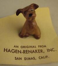 Vtg Miniature Mini Hagen Renaker Non-Disney Scamp Puppy Dog Figure Lady & Tramp