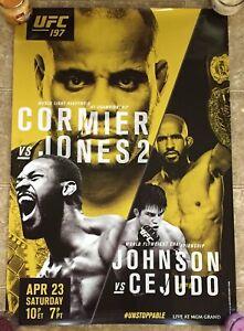 UFC 197 (CANCELLED!) JON JONES -VS- DANIEL CORMIER! FULL SIZE POSTER! (29x37)
