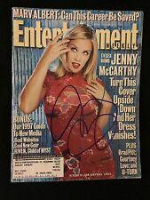 Jenny McCarthy Signed Entertainment Weekly Magazine