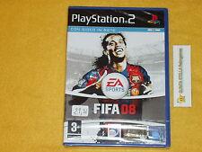 FIFA 08 2008 PS2 SONY PLAYSTATION 2 VERS. ITALIANA NUOVO SIGILLATO PRIMA STAMPA