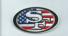 NEW 2 X 3 1/2 INCH SAN FRANCISCO 49ERS USA IRON ON PATCH FREE SHIPPING C1