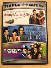 Along Came Polly, Reality Bites, Mystery Men (Dvd, 3-film) - G0621