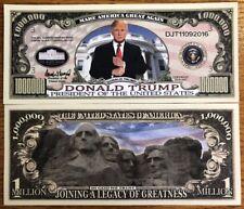 Donald Trump President Million Dollar Bill