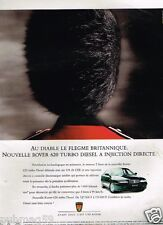 Publicité advertising 1995 Rover 620 Turbo Diesel