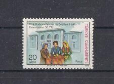 TURCHIA-TURKEY 1984 Cinquantenario riconoscimento diritto voto alle donne Mnh