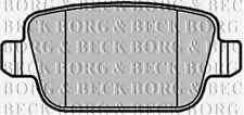 BBP2122 BORG & BECK REAR BRAKE PADS fits Ford Galaxy 06- NEW O.E SPEC!