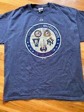 Men's Majestic New York Yankees 5 Times World Series Champions T Shirt XL