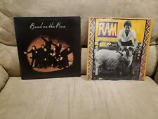Paul McCartney 2 Vinyl LP Lot - RAM - Band On The Run