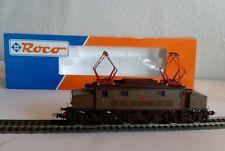 ROCO 43501 Locomotiva elettrica E626 059 FS castano isabella+scatola originale