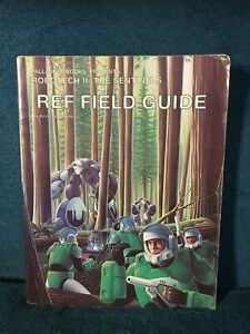 Robotech II: The Sentinels REF Field Guide by Kevin Siembieda