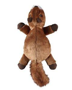 GoDog Flatz Dog Toys Squirrel
