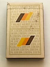 Vintage Merit Cigarette Playing Cards- 52 cards and 2 Jokers