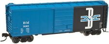 Atlas # 50001622 40' Boxcar w/8' Door, Boston & Maine #76183 N Mib