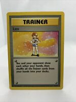 1999 Lass Base Set Ultra Rare Pokemon Card Near Mint 75/102
