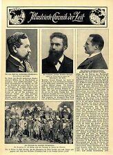 Prof.Hans Meyer Leipzig Erstbesteiger des Kilimandscharo Deutsch-Ostafria c.1911