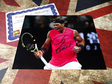 RAFA NADAL GENUINE HAND SIGNED PHOTO AUTHENTIC AUTOGRAPH & COA