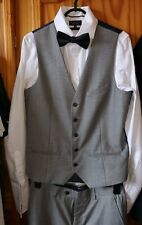 PRIMARK Suit GREY wedding /prom
