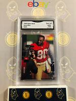 1994 Upper Deck Jerry Rice #205 - 10 GEM MINT GMA Graded Football Card