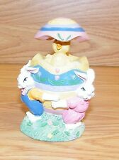 Multicolor Huevo de Pascua Bolitas Incubación Chick con Conejitos Figurita Leer