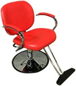 Sleek Modern Hydraulic Barber Chair Styling Salon Beauty