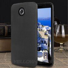 Black Shockproof Ultra Slim Soft TPU Silicone Gel Back Case for Google Nexus 6