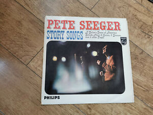 Pete Seeger – Story Songs phillips 1961 UK vinyl LP record