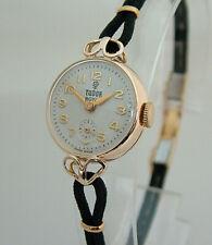 Beautiful Rolex Tudor Royal Ladies Solid Gold Vintage Watch 1954